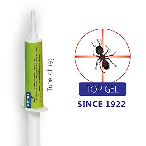 Rimi Top Gel Ant Pest Control Bait: 0.53oz Tube of Drops Exterminates Ants and Termites, Non-Toxic, No Smell, Child & Pet Safe, Eco-Friendly, Year's Dose