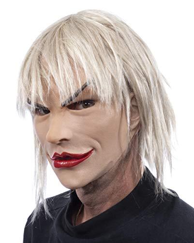 Horror-Shop masque femme blonde bimbo