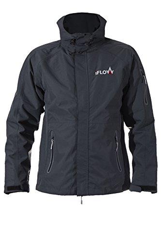 iFLOW Herren Glacier Jacket Dark Grey Man Ski Jacke, S