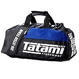 Tatami Sporttasche Jiu Jitsu Gear Bag Schwarz/Blau - Sporttasche Trainingstasche Jiu Jitsu BJJ MMA...