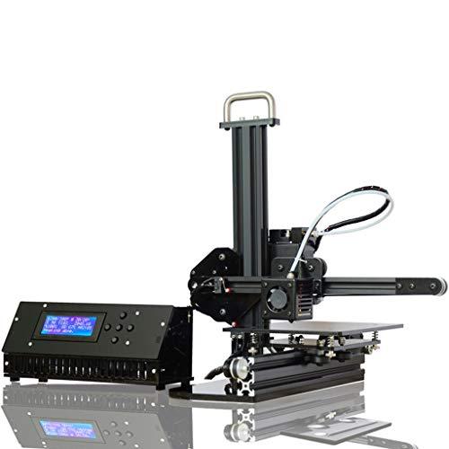 DM-DYJ Imprimante USB3D, FDM Ménage Bureau Éducation Taille 150x150x150mm, Profilé en Aluminium
