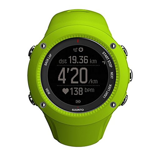 Suunto Uhr AMBIT 3 RUN, lime, One size, SS021260000