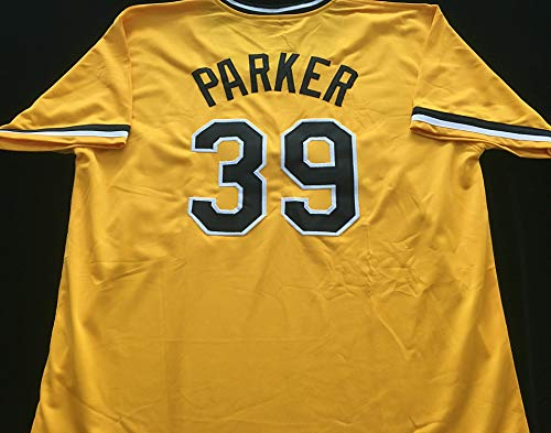 Dave Parker The Cobra Yellow Baseball Jersey (Unsigned) - Pittsburgh Pirates Great - Size XL