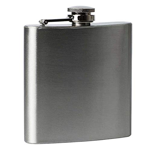 1 4 5 6 7 8 9 10 18 oz Hip Flask RVS Pocket Drink Whisky Flasks TOP (6OZ.)