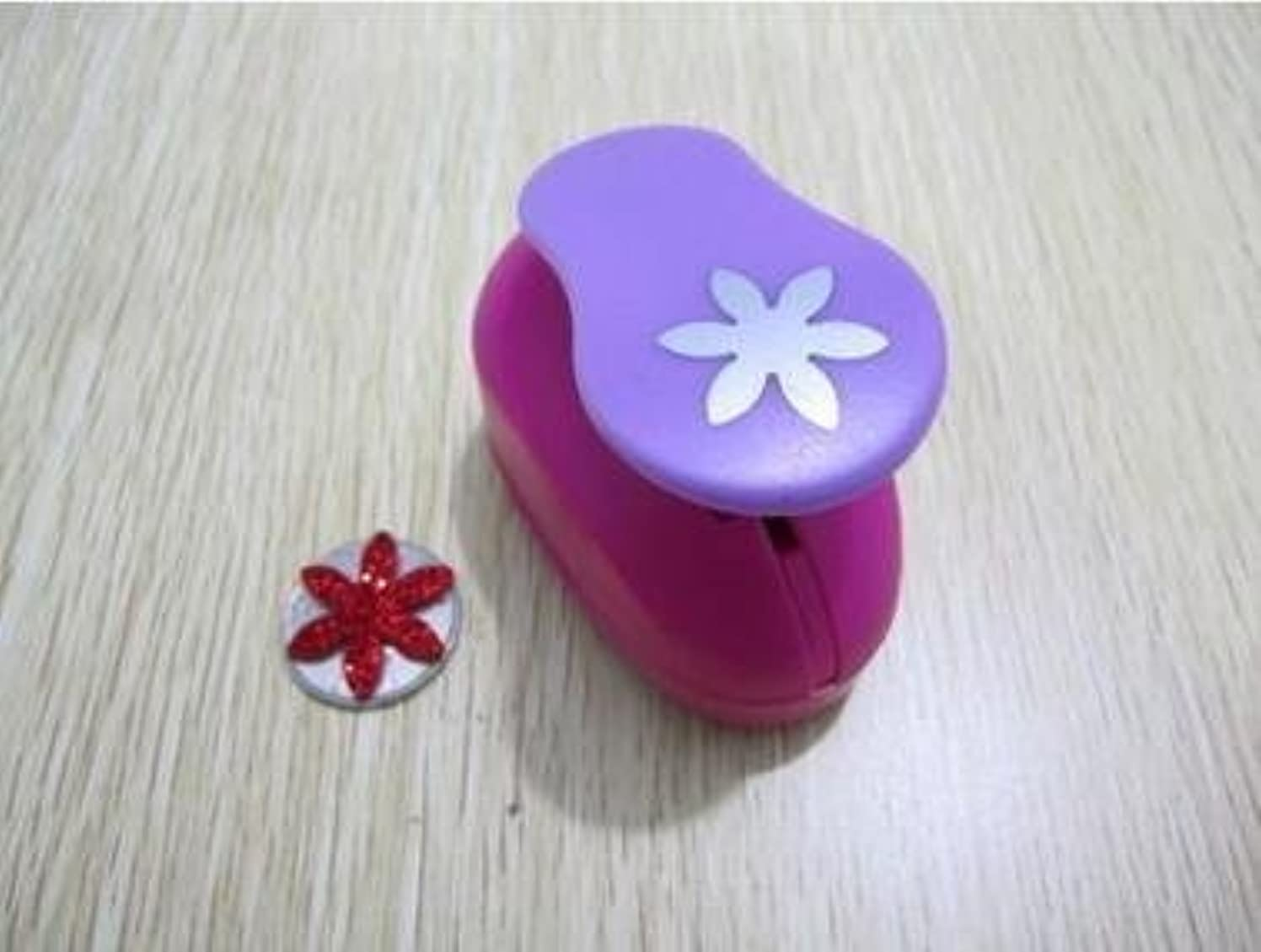 Since Mini Paper Craft Punch DIY Handmade Hole Puncher for Festival Papers and Greeting Card , Total 45 design ( New Flower )