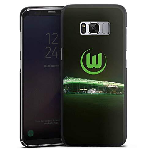 DeinDesign Hülle kompatibel mit Samsung Galaxy S8 Handyhülle Case Offizielles Lizenzprodukt VFL Wolfsburg Stadion