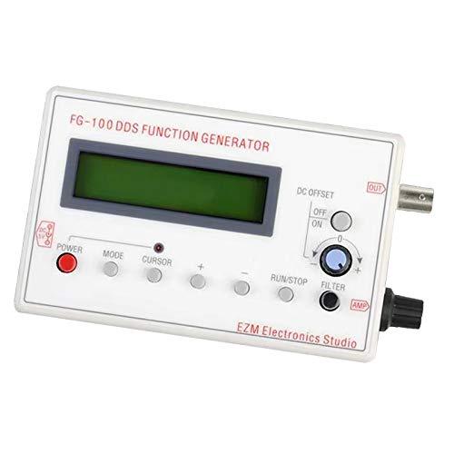 F Fityle 1HZ-500KHZ FG-100 DDS generador de señal Funcional medidor de frecuencia Fuente de señal módulo Contador de frecuencia Cuadrado Onda Triangular