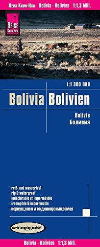 Reise Know-How Landkarte Bolivien / Bolivia (1:1.300.000): reiß- und wasserfest (world mapping project)