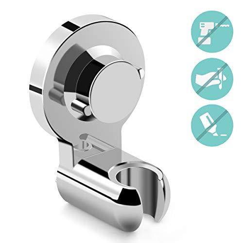 JOLVVN Duschkopf Halterung Duschkopfhalterung Duschhalterung für Handbrause Duschbrause, 360° Verstellbar Brausehalter für Badezimmer