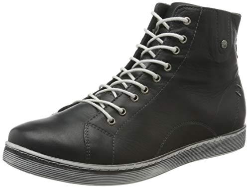 Andrea Conti Damen 0027913 Hohe Sneaker, Grau (Schiefer 261), 38 EU