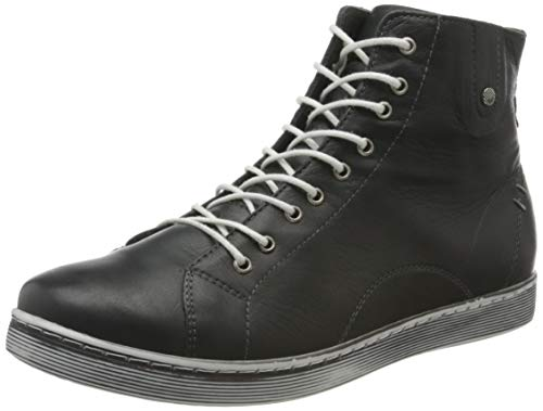 Andrea Conti Damen 0027913 Hohe Sneaker, Grau (Schiefer 261), 39 EU