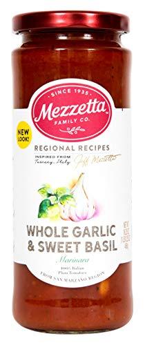 Mezzetta Marinara Sauce, Whole Garlic & Sweet Basil, 16.25 Ounce