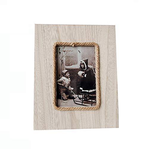 woyada Marco de fotos, estilo nórdico, marcos de fotos de madera para colgar en la pared, marco de fotos para sala de estar, dormitorio