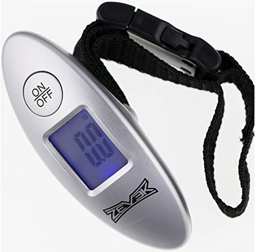 Zevek Digital Travel Luggage Scales with Backlit Easy to Read Display