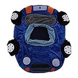 Auto Design Kindersitzsack Sitzsack Stützsitz Weichen Stuhl Kissen Sofa für Spielzimmer Baby Kinder - Blau