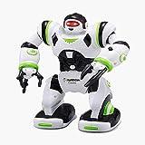 YARMOSHI- Ferngesteuertes intelligentes Roboterspielzeug Mini-Calvin, Flexibler beweglicher Körper, Wirbel, Tänze,12.6x6.3x15.2 Inches, lustiges Geschenk für Mädchen und Jungen ab 5.+ Jahren.