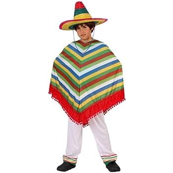 LIBROLANDIA - Disfraz de mejicano para niño, talla 5-6 años (6167 ...