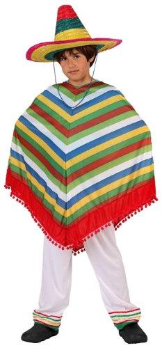 LIBROLANDIA - Disfraz de mejicano para niño, talla 5-6 años (6167)