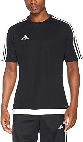 adidas Herren Fußballtrikot Estro 15, schwarz/Weiß, XL, S16147
