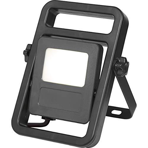 LED-Baustrahler LED-Baustrahler tragbar 20 W EEK: A+   Baulamper mit Aufstellbügel und schwenkbarem Leuchtkopf
