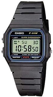 Casio for Men - Digital F-91W-1YEF Resin Watch