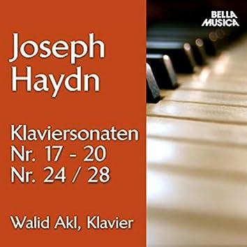 Haydn: Klaviersonaten No. 17 - 20, 24 und 28