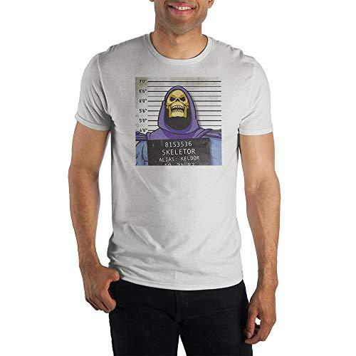 Skeletor Funny Mug Shot Arrested T-shirt, S to 3XL
