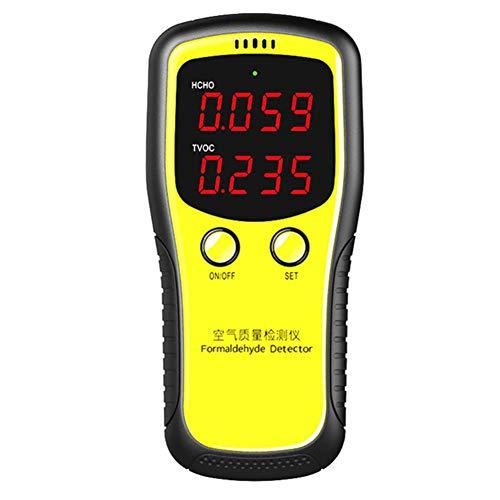 DZSF Tragbarer LCD-Digital TVOC CO2-Monitor Dioxide Meter Raumluftqualität Formaldehyd-Detektor Indoor Selbstüberwachung Tester