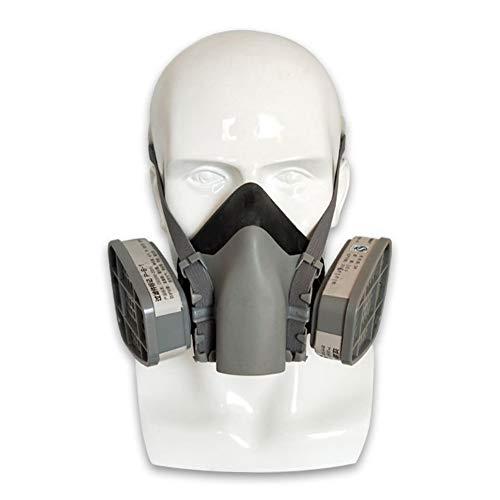 FAIRPrin Halb Gesicht Abdeckung Wiederverwendbare, Perfekte Passform Für Das Gesicht, Sicher Zu Bedienen, Wird Verwendet, Um Staub Und Schädliche Gase Zu Vermeiden, Inklusive Filter