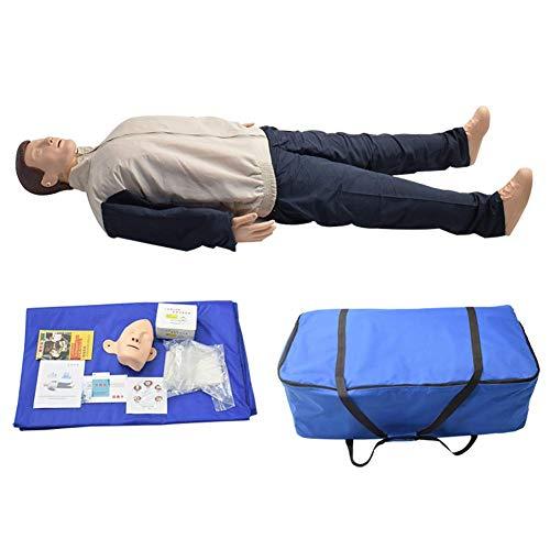 ZMIN Reanimationspuppe Erste Hilfe, CPR Übungspuppe Trainingspuppe, kardiopulmonaler Wiederbelebungssimulator für medizinische pädagogische Trainingshilfe