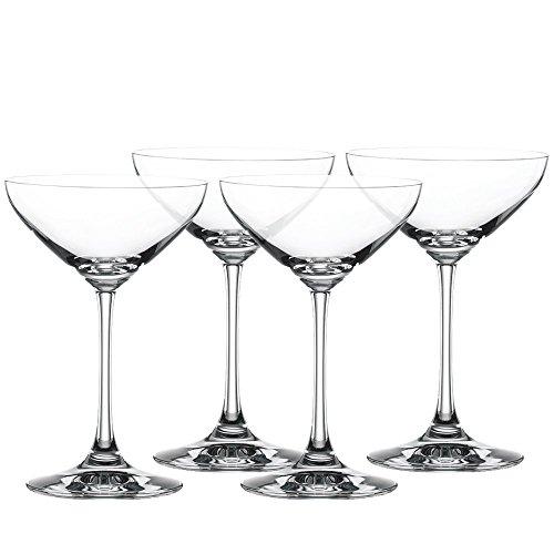 Spiegelau 8 teiliges Cocktailschalen Set Cocktailglas/Champagnerschla/Coupette Glas Kristallglas 250ml Special Glasses 4710050 x 2