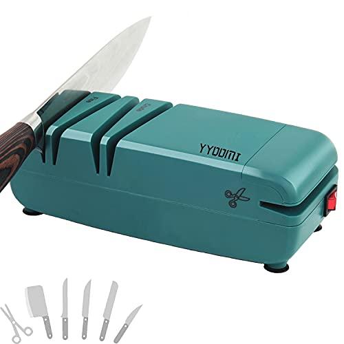 YYOOMI Electric Knife Sharpener, Professional Knife...