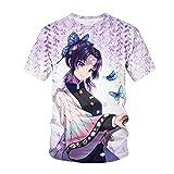 yinying Ropa de Anime Popular Day-Redondo Edge Deseado 3DT Camisa de Manga corta-Ataa2458e_120