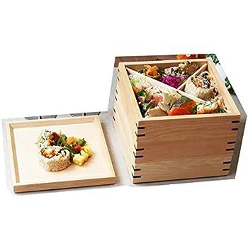 木製 3段重箱 ウルトラミックス 三段 お重箱(耐久性・耐水性機能) 2人~3人用 ナチュラル