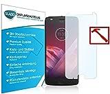 Slabo Lámina de Vidrio Premium para Lenovo Moto Z2 Play Protectora Protector de Pantalla Templado Tempered Glass Claro dureza 9H