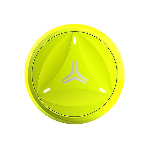 Coollang Tennisschläger Sensor Tracker Bewegungsmelder Analyzer mit Bluetooth 4.0 kompatibel mit Android und iOS Smartphones