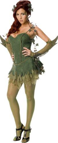 Rubie 's Officieel Batman Poison Ivy BoseWake kostuum voor dames, kostuum voor volwassenen, klein formaat, UK 8-10, ca maat 36-38