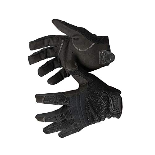 5.11 Men's Touch Screen Competition Shooting Gloves, Style 59372, Black, Small