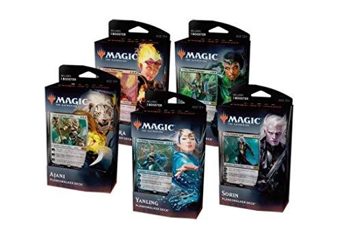 MTG Magic the Gathering 2020 Core Set M20 - All 5 Planeswalker Decks!
