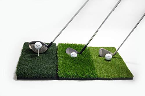 GOLFIT Golf Practice Turf Hitting Mat