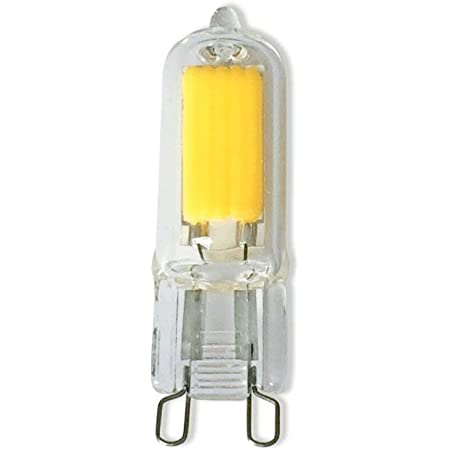 5 x G9 Halogen Bulb Warm Whtie Filament Lamp Bulbs 25w