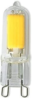 Vstar G9 LED Light Bulbs,2W (25W Halogen Equivalent),240 Lumens,2700-3000K Warm White,G9 Bi-Pin Base,360° Beam Angle LED Bulbs for Home Lighting,Pack of 5