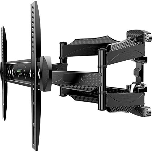 ATUMTEK TV Wall Mount Full Motion Swivel Tilt Extension Rotation for Most 23 55 Inch Flat Curved product image