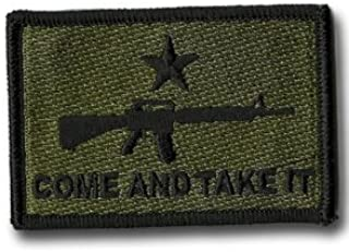 Come and Take it M-16 Tactical Patch - Variations!