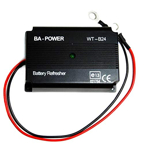 US SOLAR PUMPS.COM 12V Battery Tender, Refresher, Desulfator. Restore Old Batteries or get Over 4 to 5 x The Life Out of Your New Battery!