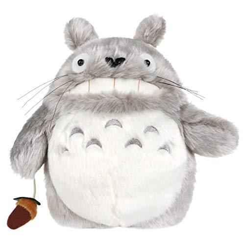 CoolChange Süßer Totoro Kinder Rucksack aus Plüsch, Grau