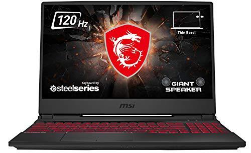 MSI GL65 10SER-201 Leopard (39,6 cm/15,6 Zoll/120Hz) Gaming-Laptop (Intel Core i7-10750H, 16GB RAM, 512GB PCIe SSD, Nvidia GeForce RTX 2060 6GB, Windows 10 Home) schwarz