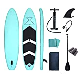 Backboards Stand Up Paddle Board,Adjustable Inflatable SUP Boat,with Paddle Pump Leash Carry Bag,for Youth Adult Beginner All Skill Levels,420cm(165inch)