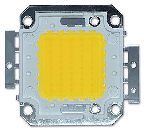 Chip LED da 50 W ad alta potenza per faretti / lampada, colore della luce: bianco freddo