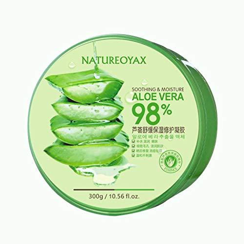 Gel de Aloe Vera 300g Hidratante Gel Hidratante After Sun reparaciones que blanquea la crema en Inicio